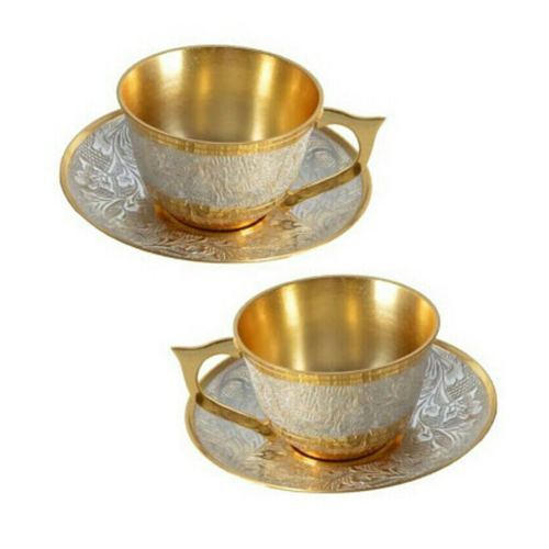 Brass Tea Cup Plate Set  sc 1 st  IndiaMART & Brass Tea Cup Plate Set Cha Cup Set Chai Cup Set Chai Ke Cup Ka ...