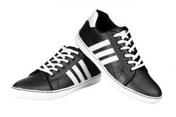 Black Casual Shoes, Size: 7 and 9