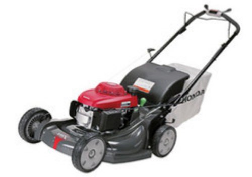Red And Black Lawn Mower-Petrol