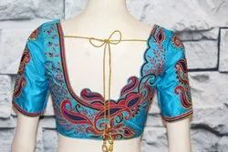 Embroidery Blouse Stitching in Chennai