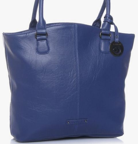 Fashion Blue Large Tote Bag