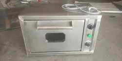 Stainless Steel Square COMMERCIAL OVEN, For Restaurant, Capacity: 10*16