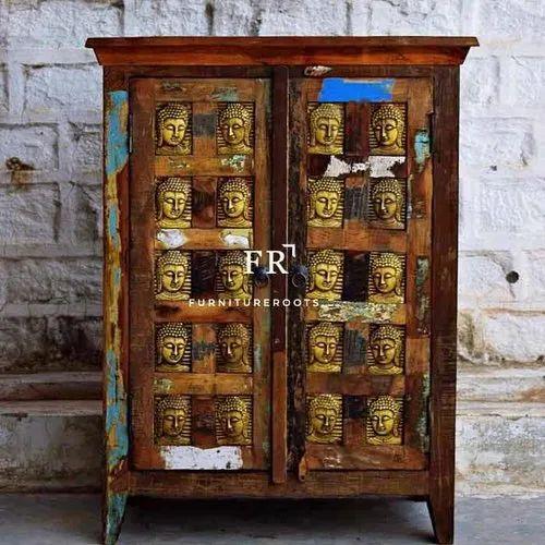 Hotel Furniture Vintage Rustic, Rustic Storage Cabinets