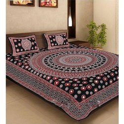 Printed Jaipuri Cotton BED SHEETS DIGITAL PANNEL