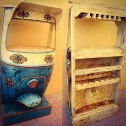 Kernig Krafts Antique Wooden Taxi Bar