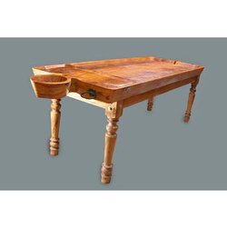 Matt Finish Wooden Massage Table