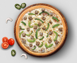 Pepper Chicken Pizza