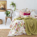 Printed Bed Summer Quilt.