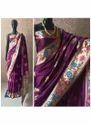 Meenakari Work Designer Banarasi Silk Sarees