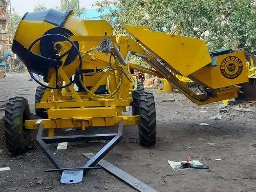 Three Bin Diesel Hydraulic Hopper Mixer