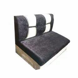 Brown Modern 3 Seater Wooden Sofa