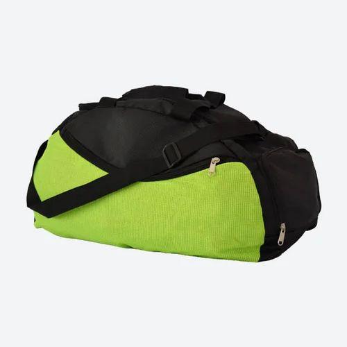 05e9422837e6 Plain Gym Bag With Shoe Pocket
