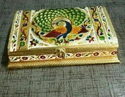 Rc Export Decorative Silver Plated Dry Fruit Box