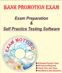 Bank Promotion Exam SOFTWARE