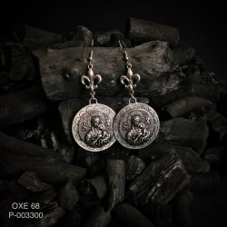 Oxidized Earrings OXE 68
