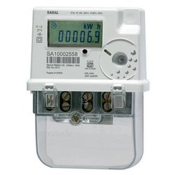 Upto 60a Saral Secure Single Phase Energy Meter, For Residential, 240V