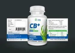 AXRA CB Plus Vitamin C, C-Phycocyanin and Zinc Tablets