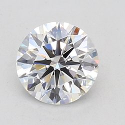CVD Diamond 1.52ct J SI1Round Brilliant Cut IGI Certified Stone