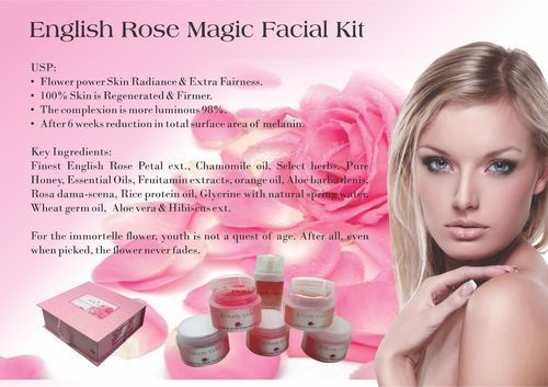 English Rose Magic Facial Kit