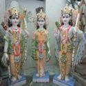 Lord Ram Darbar Marble Statue