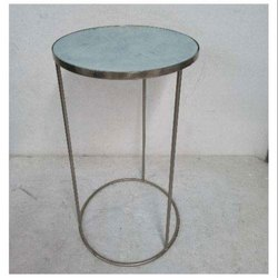 1 To 2 Feet (height) Round Shape Home Decor Table