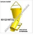 Banana Type Concrete Bucket of Tower Crane