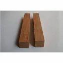 Rectangular Natural Teak Wood Pen Blanks