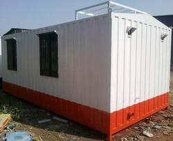 Site Office Cabin With Attached Toilet