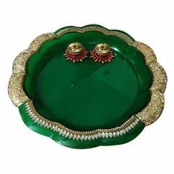 Diwali Kundan Pooja Thali