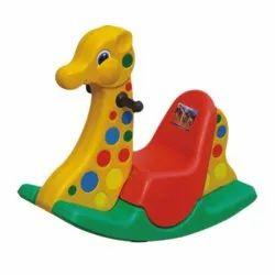 Giraffe Multi Colour Rocker