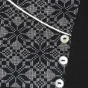 Black Pure Cotton Kurta With Palazzo(SET123)