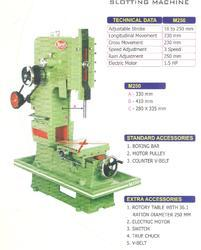 Slotting Machine For Key Way