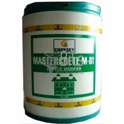 Waterproofing Coating Choksey Mastercrete M81 Acrylic Cementitious Waterproofing System, Packaging Size: 20 Ltr, For Concrete