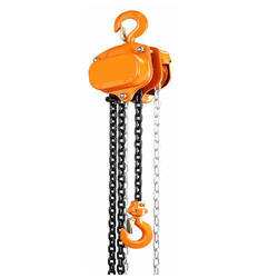 Chain Pulley, Double Beam Crane And Lifting Platform