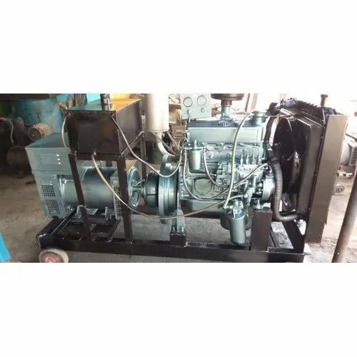 Water Cooling 50 Kva Used Diesel Generators, For Commercial, 440 V