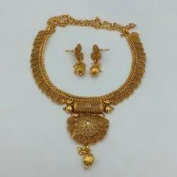Karishma Kreations Copper Jewellery Set - 888