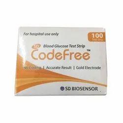 Codefree 100 Test Strip