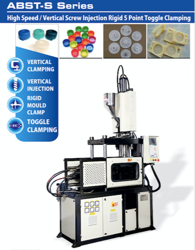 Toggle Clamping Machine - Toggle Type Vertical Injection