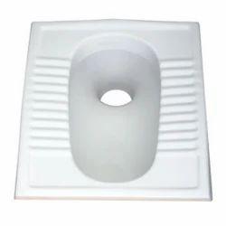 White Orissa Pan Seat