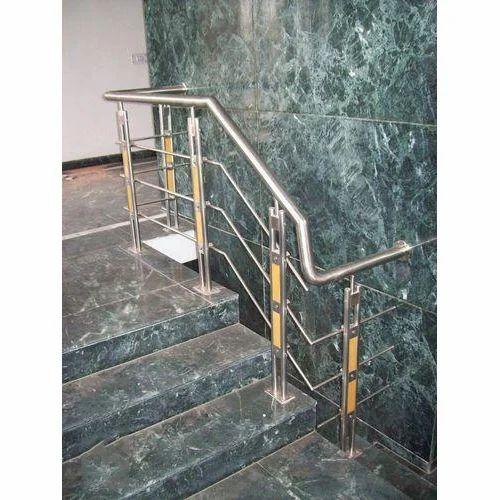Horizontal SS Stair Railing