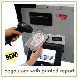 Hard Drive Degausser Machine