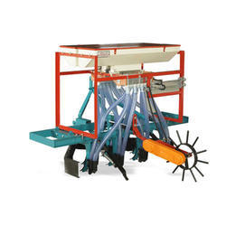 Double Hopper Tractor Operated Seed Planter Drill