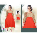 3/4Th Sleeve Party Wear Kurti