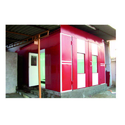 Painted Wet Type Paint Booth, For Automobile Industry