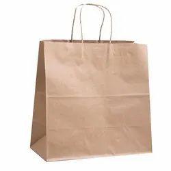 Plain Brown Paper Shopping Bag