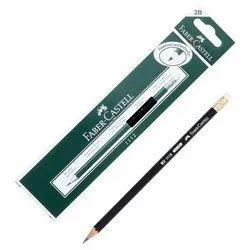 Black Wood Faber Castell Graphite Pencil