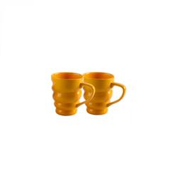 Ceramic Spiral Milk Mug