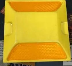 Yellow Plastic Road Stud