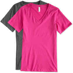 V Neck T Shirt, Size: L And XL