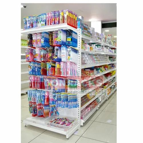Multicolor Donracks Perforated Rack With Hooks, Rs 6000